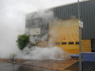 Steamexfire 1000 in action